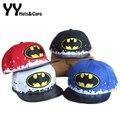 2016 Moda Primavera Verão Crianças Batman Snapback Hop Caps Para Crianças Boné de Beisebol Esporte chapéu Meninos Menina Gorros