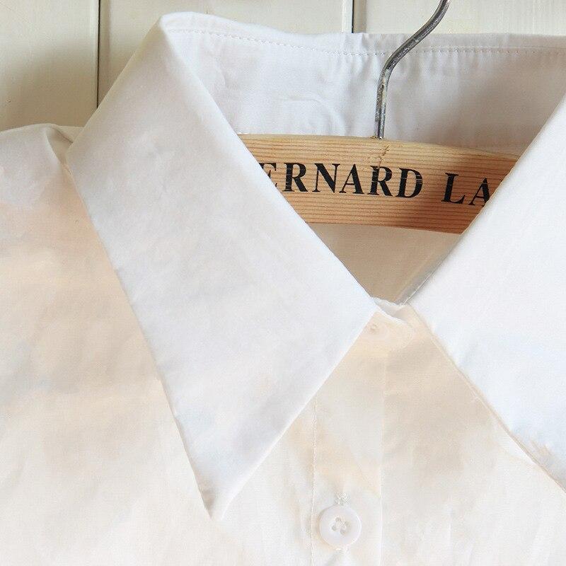 Detachable Shirt Collars Black White Lapel False Collar Women Faux Col Sweater Dress Accessories Tunique Femme Custom Wholesale