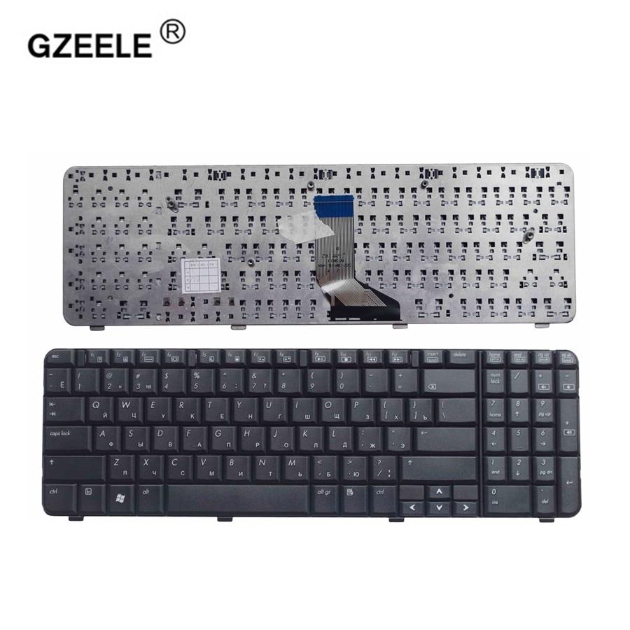 GZEELE NEW Russian Keyboard For HP Compaq Presario CQ61 G61 CQ61-100 CQ61-200 CQ61-300 NSK-HA60R 9J.N0Y82.60R AE0P6700310 Black