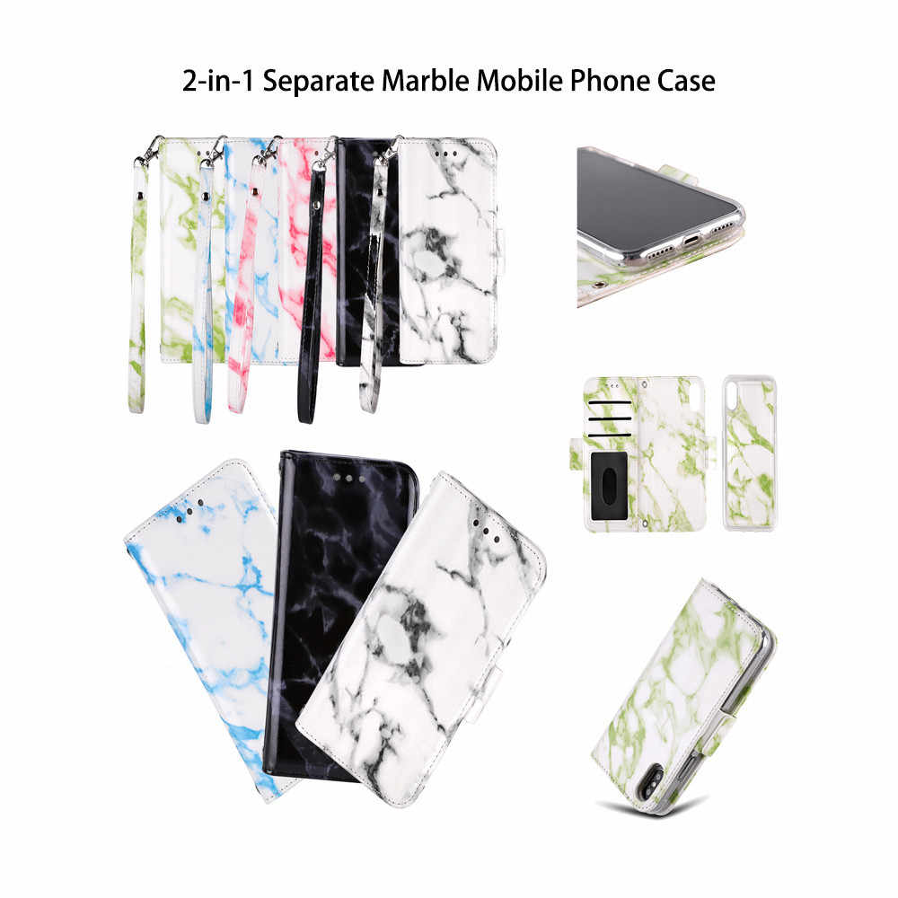 Мраморный кожаный чехол для iphone XS 5,8 дюймов/iphone XS max 6,5 дропшиппинг Mar22