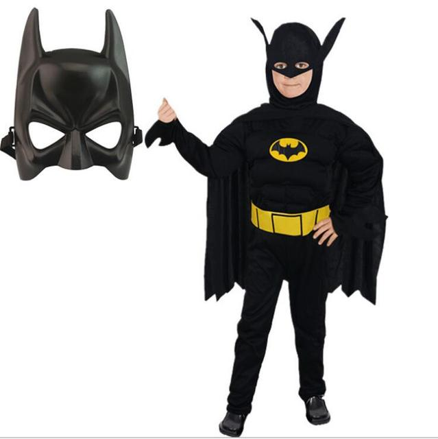 Boys Muscle Batman Costume Kids Comic Superhero Batman Role-Playing Clothing Halloween Christmas Carnival Fancy  sc 1 st  AliExpress.com & Boys Muscle Batman Costume Kids Comic Superhero Batman Role Playing ...