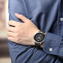 Lovers Couple Watches Luxury Brand Waterproof Style Quartz Leather Watch Gold Watch