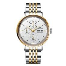 business Winner Watch Men Skeleton Automatic Mechanical Watch Gold Skeleton Vintage Men's Watch stainless stee  Top Brand Luxury все цены