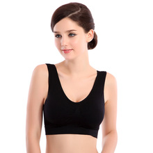 Hot style single thin strapless, sports vest Breathable seamless bra underwear