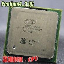 original Intel Pentium P4 3.0 4 3 GHz Socket 478 1M 800 SL7PM specifications EO P4 3.0E cpu processor