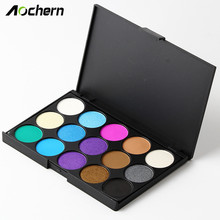 Aochern Professional Eyeshadow Palette fashion 15 Earth Color Matte Pigment Cosmetic Makeup Eye Shadow for women Ladies #4002