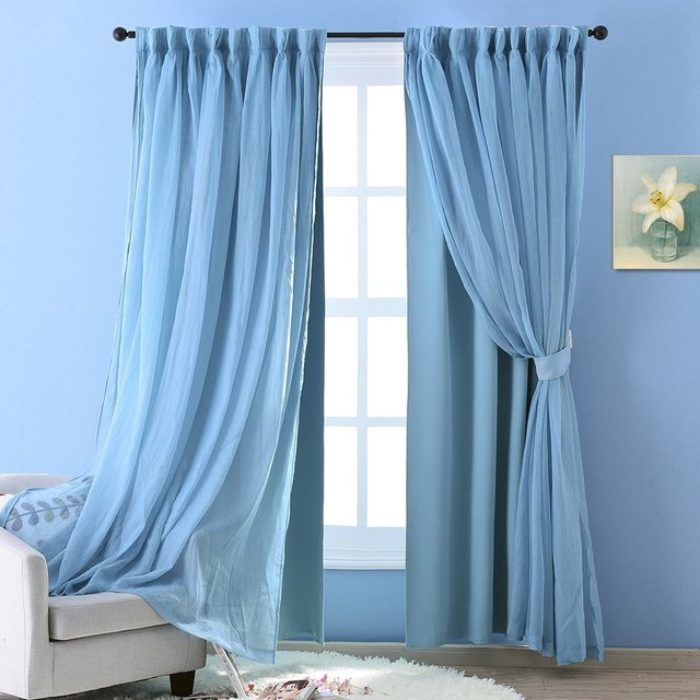 teal color view room darkening ideas block antique decorating turquoise curtain woven blackout trendy pencil curtains grommet kitchen pleat blue aqua home shantung quick eyelet pk