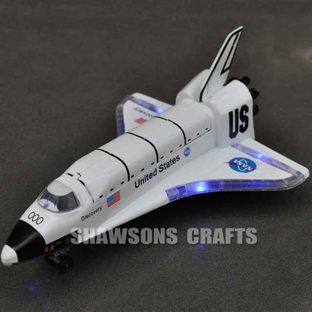 1:200 DIECAST PULL BACK MODEL TOY USA NASA SPACE SHUTTLE ...