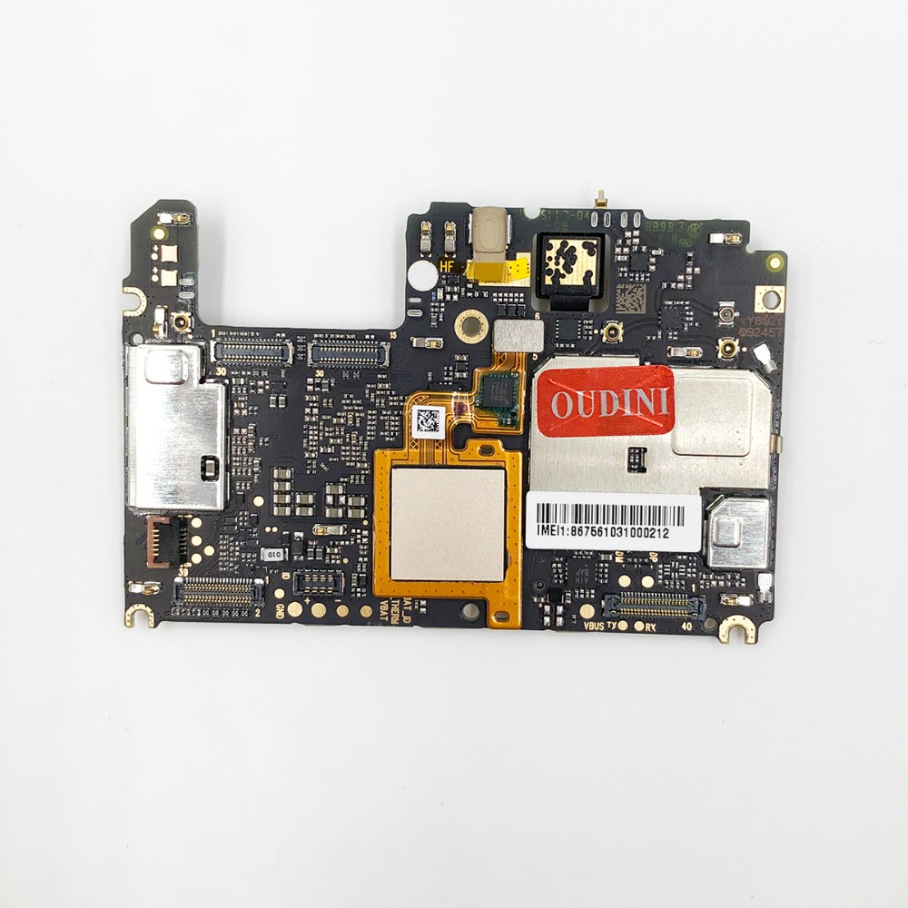 Image 3 - oudini UNLOCKED Original motherboard For xiaomi A1 Motherboard dual simcard 4G RAM 64GB ROM  For xiaomi 5X motherboard-in Mobile Phone Circuits from Cellphones & Telecommunications