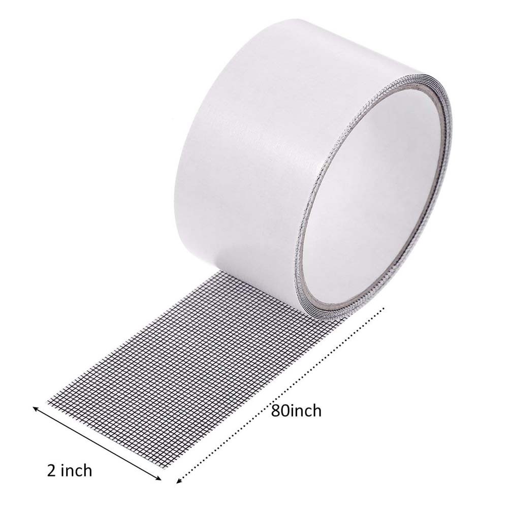 2m Repair Tape Fly Screen Door Insect Repellent Repair Tape Waterproof Mosquito Screens Cover Repair Tape