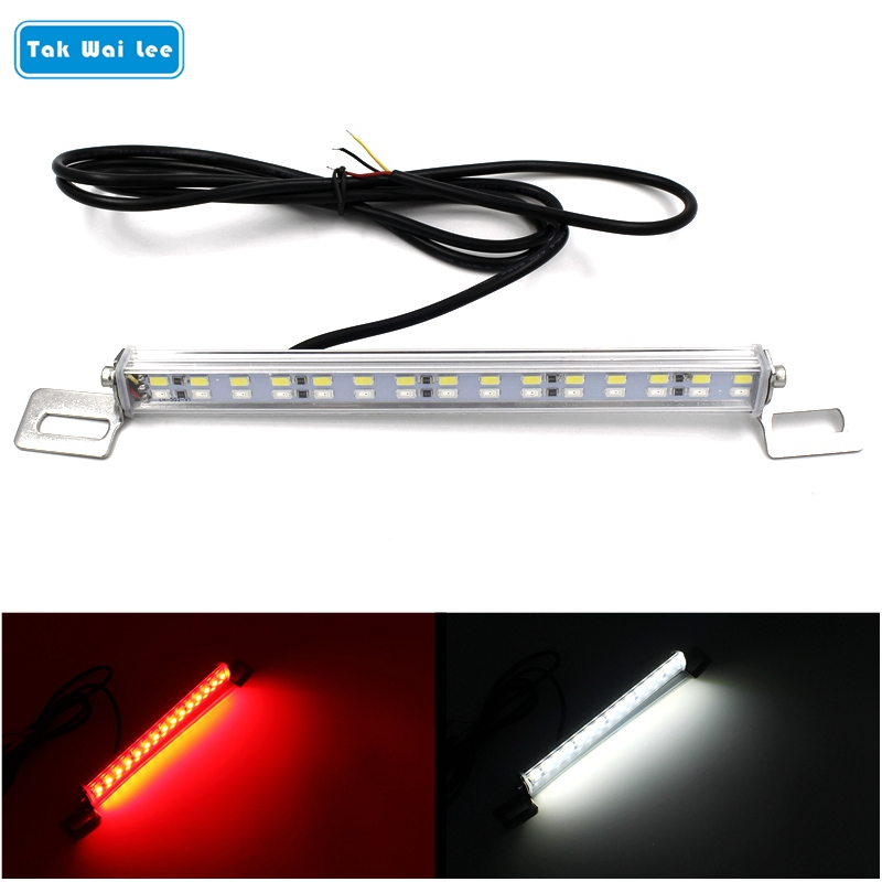 Tak Wai Lee 1Pcs LED Car Reverse Brake Auxiliary Light IP67 Waterproof  Two In One Rear Backup Brake Lamp Styling Lights Source tak wai lee 10pcs set multi function led drl daytime running light car styling trun steering eagle eyes on off with controller