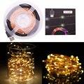 10 M 33ft 100 led 5 V USB ao ar livre branco Morno/RGB led fio de cobre luzes cordas de fadas natal festival festa de casamento decoração