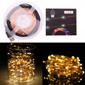 10M 33ft 100 led 5V USB outdoor Warm white/RGB led copper wire string fairy lights christmas festival wedding party decoration