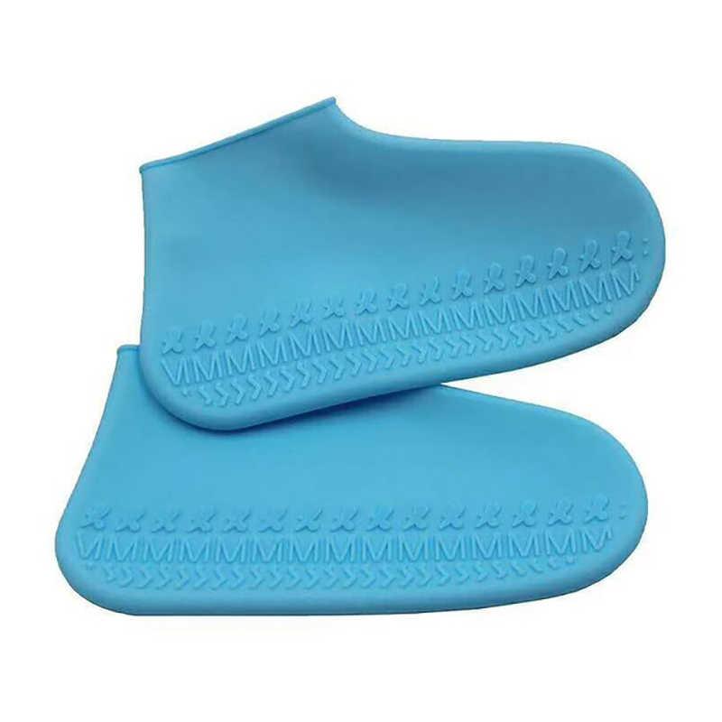 Waterdichte Schoen Cover Siliconen Materiaal Unisex Schoenen Beschermers Regen Laarzen Voor Indoor Outdoor Regenachtige Dagen