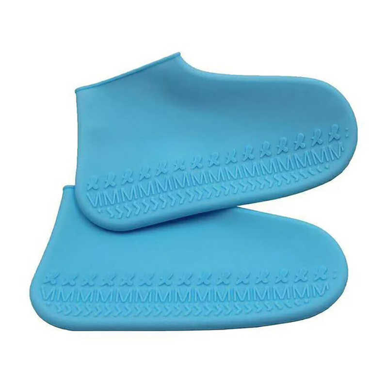 Waterproof Shoe Cover Silicone Material Unisex Shoes Protectors Rain Boots for Indoor Outdoor Rainy Days
