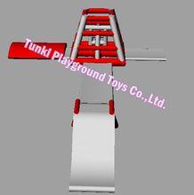 풍선 워터 파크, 풍선 워터 슬라이드 게임, 수영장과 워터 슬라이드