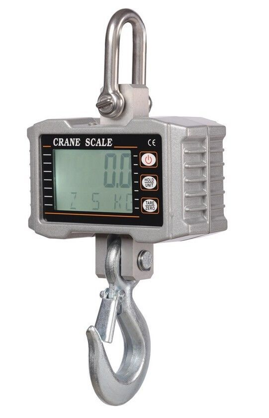 High precision 1000KG 2000LBS Aluminum Digital Crane Scale heavy Duty Hanging Scale LCD дырокол deli heavy duty e0130