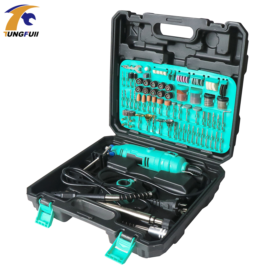 Electric Drill Mini Drills Woodworking Machine Polishing Engraver Electric Flex Shaft Grinders Dremel Rotary Tool Accessory Set