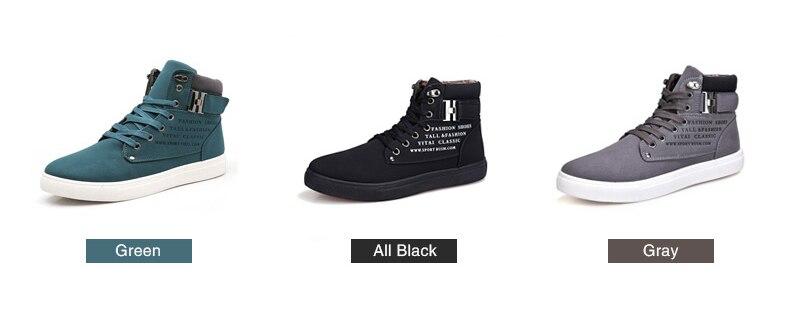 HTB1lNWujyMnBKNjSZFzq6A qVXa6 DEKABR Hot Men Shoes Fashion Warm Fur Winter Men Boots Autumn Leather Footwear For Man New High Top Canvas Casual Shoes Men