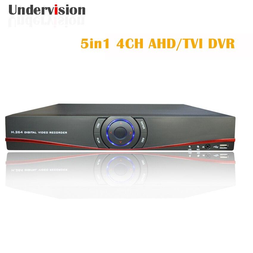 5in1 AHD TVI DVR 1080N4chs DVR video recorder Onvif brand IP font b cameras b font