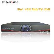 5en1 1080N4chs TVI AHD DVR video recorder DVR Onvif marca cámaras IP CCTV DVR 4chs audio y puerto HDMI libre gratis
