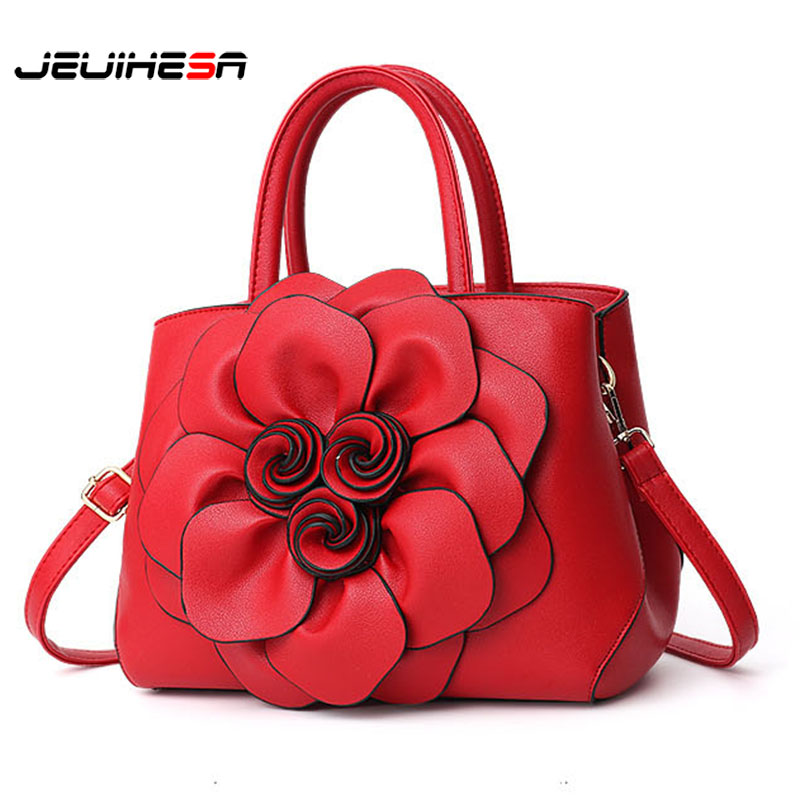JEUIHESA WomenS Bags PU Leather Handbag Women Messenger Bag Flowers Shoulder Bag Female High Quality Tote Bag Bolsa FemininaJEUIHESA WomenS Bags PU Leather Handbag Women Messenger Bag Flowers Shoulder Bag Female High Quality Tote Bag Bolsa Feminina