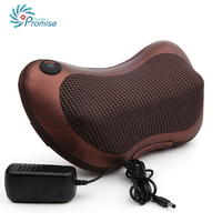 Portable Health Care Infrared Massage Pillow Car Home Heating Massage Pillow Neck Relaxation Foot Back Body
