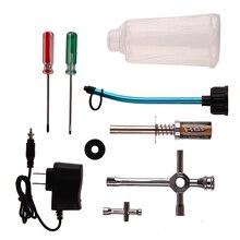 Racing Nitro Starter Kit Repair Tools Hand Tools Screwdriver Igniter Tool Fuel Filler Set  for Hsp Redcat 1/8 and 1/10 Car