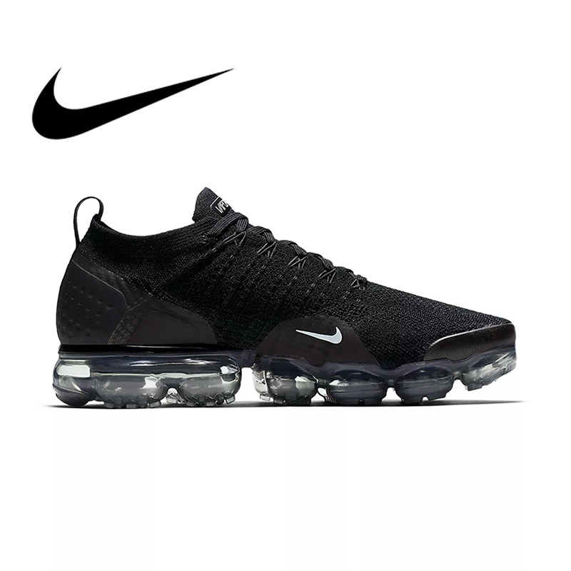 D'origine NIKE AIR VAPORMAX FLYKNIT 2.0 Authentique MensSport En Plein AIR Chaussures de Course Respirant Sneakers Durables Confortable 942842