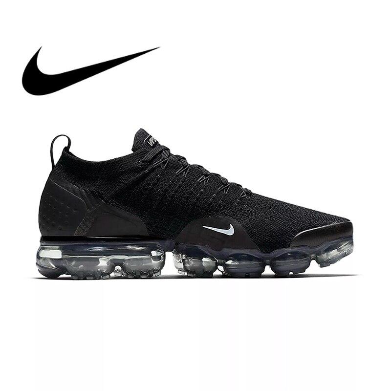 D'origine NIKE AIR VAPORMAX FLYKNIT 2.0 Authentique MensSport En Plein AIR Chaussures de Course Respirant Sneakers Durables Confortable 942842