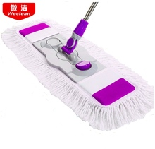 Commercial flat mop, household plus large wooden floor tile, sweeping artifact, commercial use