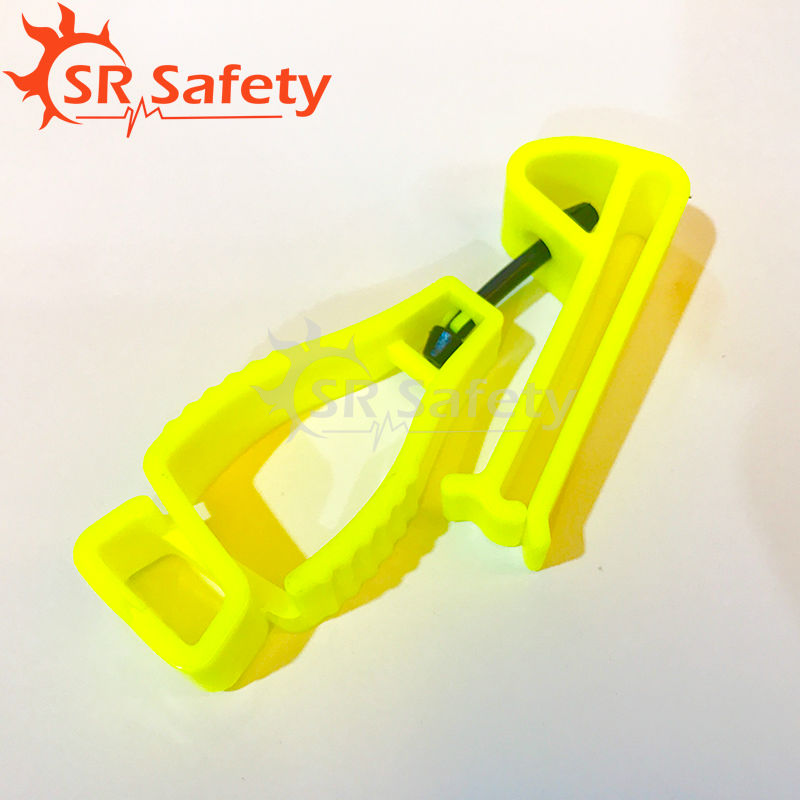 Srsafety 3 Pcs Glove Clip AT2HY Hi Viz Yellow