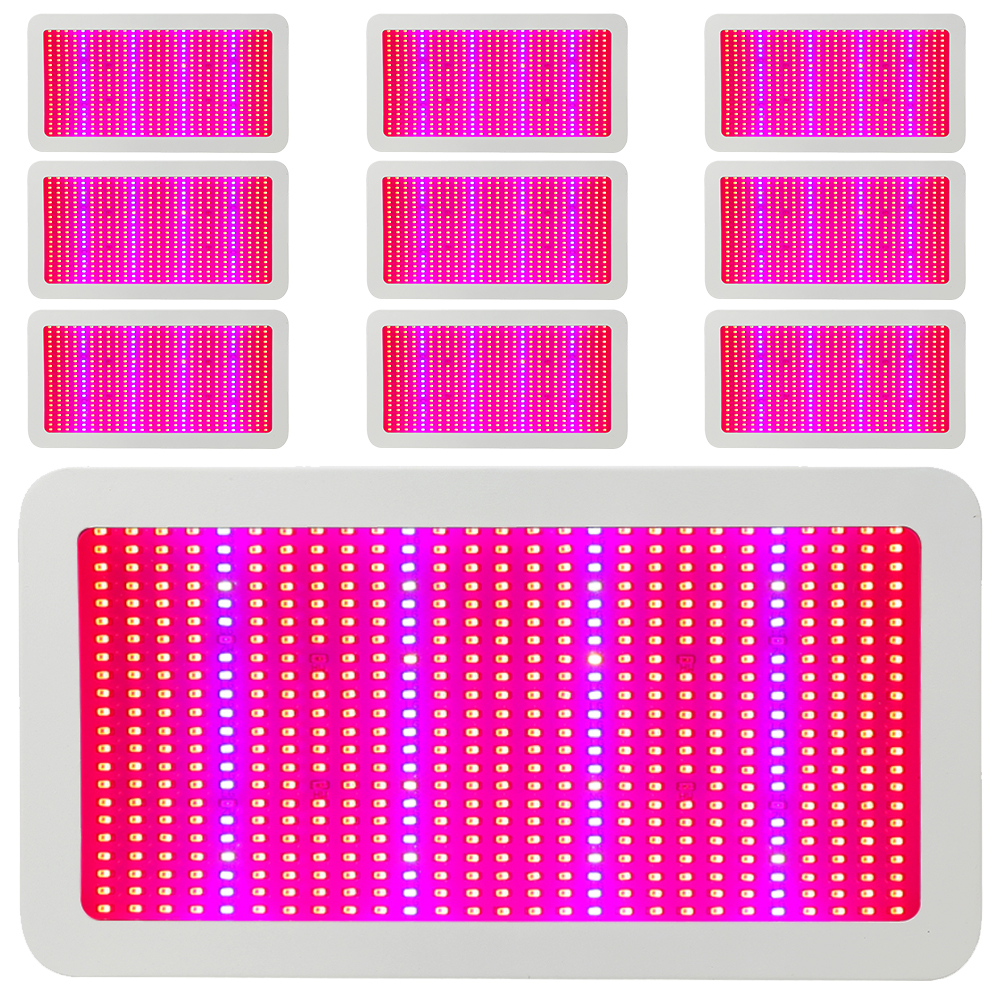 (10pcs/Lot) 600W LED Grow Lights Full Spectrum Hydroponics Led Plant Lamp Best For Medicinal Plants Seedling Growth Flowering