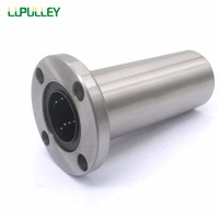 LUPULLEY Bushing Round Flange Linear Motion Bearing LMF35/40UU Long type Linear Bearing Shaft LMF35/40LUU for CNC Parts