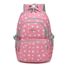 Cartoon School Bags For Girls Backpack Students Cute School Bag Large Capacity Children Backpacks Travel Backpack neko atsume backpack for teenagers girls cartoon cat backyard print school bags daily bag women travel bag kids school backpacks