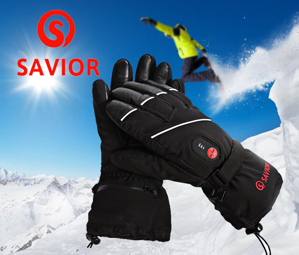 все цены на Outdoor Thermal Electric Warm Waterproof Heated Gloves Battery Powered For Motorcycle Hunting Skiing Gloves Winter Hand Warmer онлайн