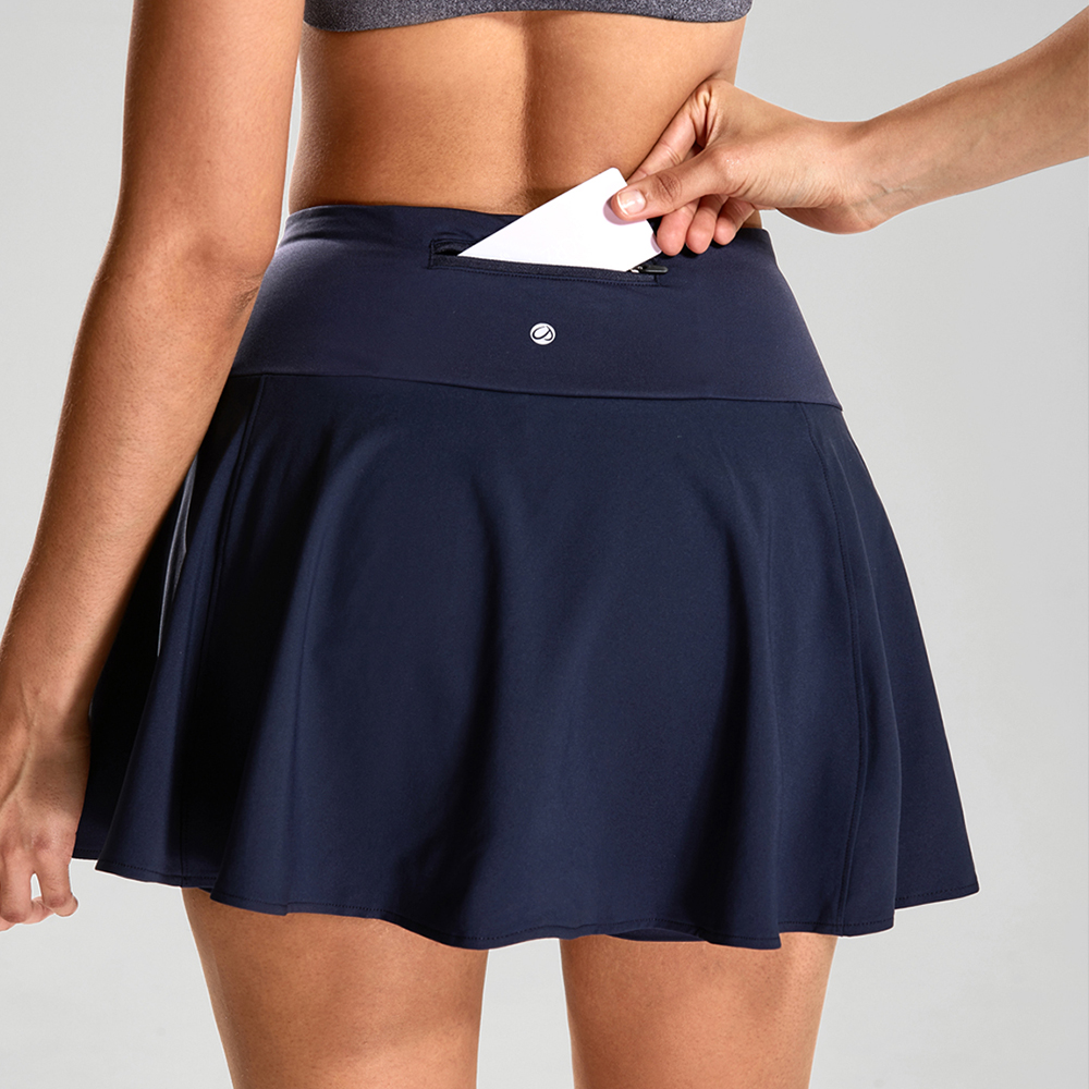 release date: e16ac 1e5cd CRZ YOGA Women s Active Sport Skirted Shorts Pleated Tennis Golf Skirt with  Pockets-in Tennis Skorts from Sports   Entertainment on Aliexpress.com    Alibaba ...