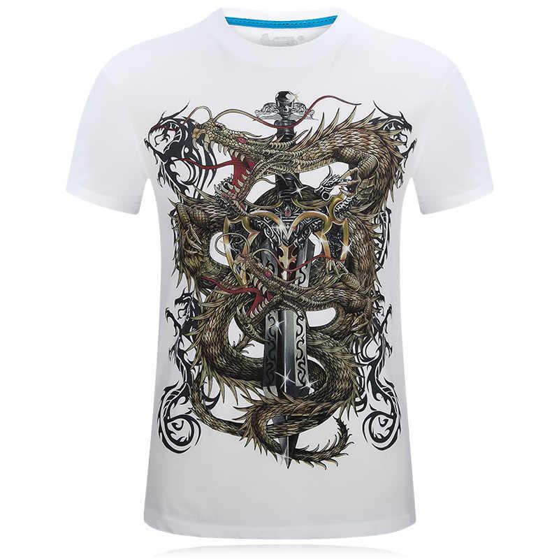 2019 Мужская футболка новая футболка яд чудо 3D печать футболка Фитнес Футболка мужская повседневная мужская футболка