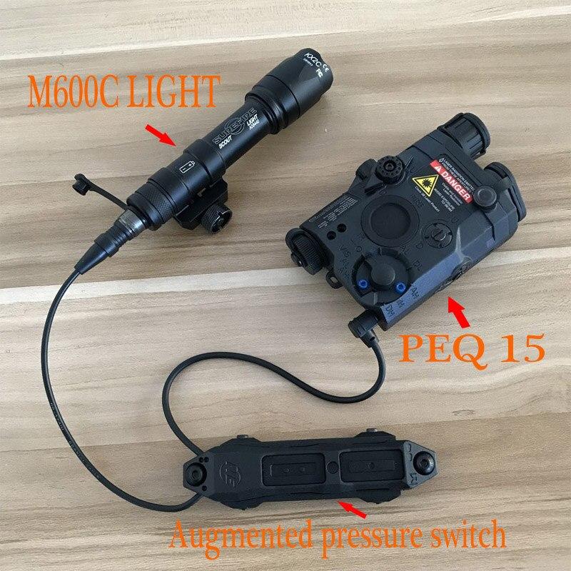 Element M600C SCOUTLIGHT LED Light LA PEQ15 and Augmented pressure switch Block accessory kit EX072 EX276