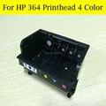Venda! 4 cores HP364 Printerhead para HP 5524 B010A B109A B109D B109F B110A para HP 364 XL cabeça de impressão