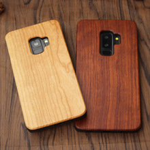 KISSCASE Real Wood Case For iPhone X 8 7 6 6S Plus XS Max XR Natural Bamboo Cases For Samsung Galaxy S8 S9 Plus S6 S7 Edge Cover
