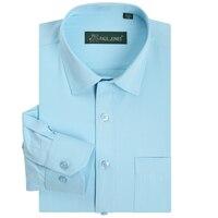 2014 New Men S Brand Shirt Mens Long Sleeve Dress Shirt Men Classic Easy Care Business