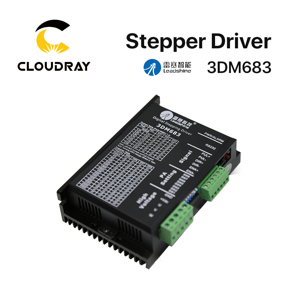 Buy Cloudray Leadshine 3 Phase 3dm580 Stepper Motor Motors Using This Circuit In Full Step Mode Through The Rs232 3dm683 Driver 20 60vdc 05 83a