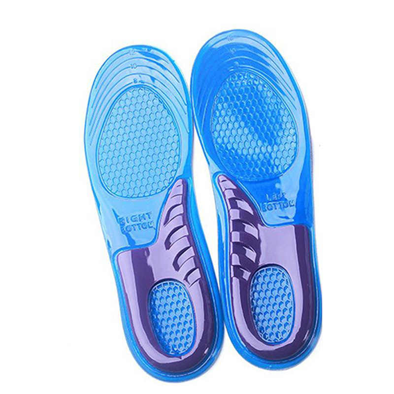 1Pair Silicone Sport Insole Orthotic Arch Shoe for Women Insoles Gel Running Shoe Insert Pad Arch Support Shoe Pad Cushion US6-9