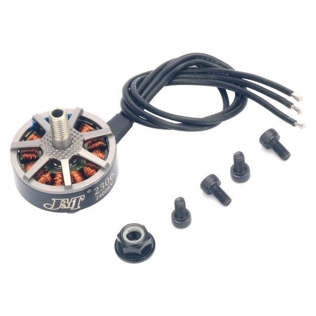 JMT 2306 ブラシレスモーターグレー 2400KV 3 4S 用 210 250 280 300 FPV レースドローン Quadcopter multirotor RC おもちゃ