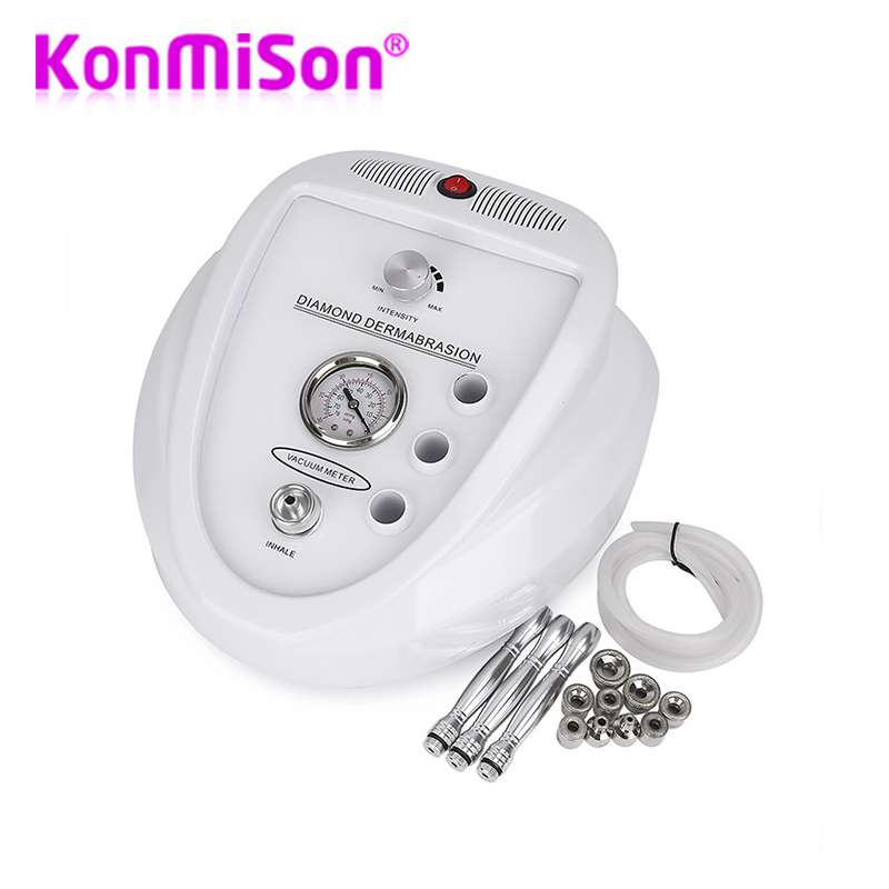 Professional Diamond Microdermabrasion Dermabrasion Machine Vacuum Spray Skin Exfoliation Removal Wrinkle Facial Peeling Device