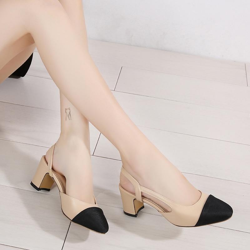COOLVFATBO Comfortable Shoes Women Low Heel Pumps Woman Slip On Soft Loafers Black Brown Beige Wholesale