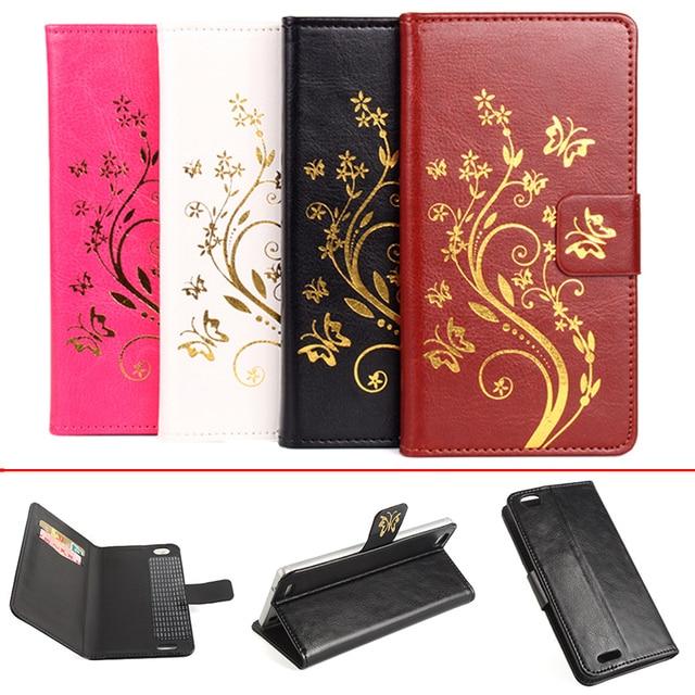 Luxury Leather Case Cubot X16 Flip Cover Case With Card Slot For Cubot X 16 Leather Cover Case Phone Cases