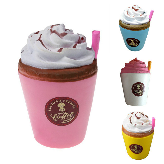 Mskwee Kawaii Jumbo Milk Ice Cream Coffee Cup Squishy Cup Cake Squishies Soft Slow Rising toys gifts for Relieves Stress AnxietyMskwee Kawaii Jumbo Milk Ice Cream Coffee Cup Squishy Cup Cake Squishies Soft Slow Rising toys gifts for Relieves Stress Anxiety