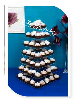 Acrylic cake Stand for Wedding Party/High Quality 7 tier Square Acrylic Cake Stand, Plexiglass Cup Cake Stand party decorationsAcrylic cake Stand for Wedding Party/High Quality 7 tier Square Acrylic Cake Stand, Plexiglass Cup Cake Stand party decorations